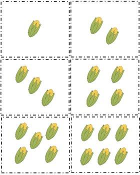 Contando maiz - A Subitizing Game