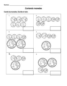 Contando monedas- Counting Coins