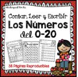 Contar, Leer y Escribir Los Números del 0-20