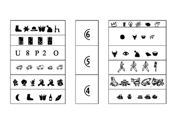 Contar de 4 a 6 objetos