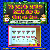 Spanish 100th Day of School Activities: Numbers in Spanish 1-100, Mini Reader