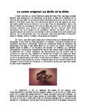 Conte des Fees: La Belle et La Bête + Questions de Lecture