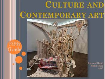 Elementary Art Lesson: Contemporary Digital Art Critical Thinking & Marzano DQ