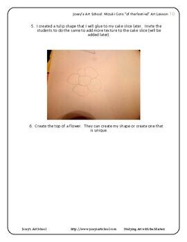 Contemporary Art Lesson Mizuki Goto Grade 1-5 of the Festival Lesson and Project
