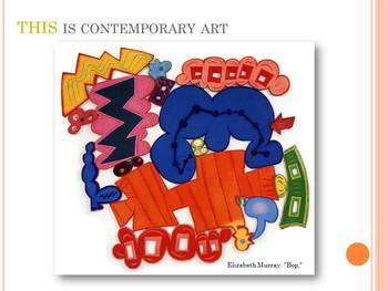 Elementary Art Lesson: Painting Line and Shape to Share Ideas & Marzano DQ