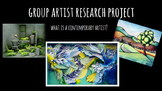 Contemporary Artist Group Research Presentations
