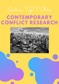 Contemporary Conflict Research