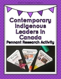 Contemporary Indigenous Leaders In Canada: Pennant Research Activity