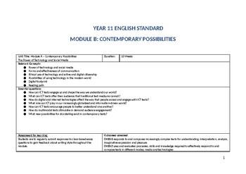 Contemporary Possibilities Program - Black Mirror
