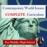 Contemporary World Issues COMPLETE Curriculum for Special Education