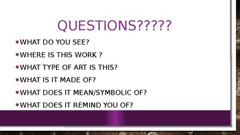 Contemporary art Powerpoint (APAH)