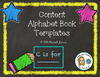 Content Alphabet Book Templates