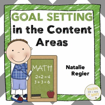 Goal Setting For Students | Content Area Goal Setting BUNDLE | Assessment