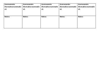 Content Area Lesson Plan Template