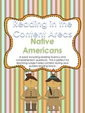 Content Area Reading: Native Americans (Fluency & Comprehe