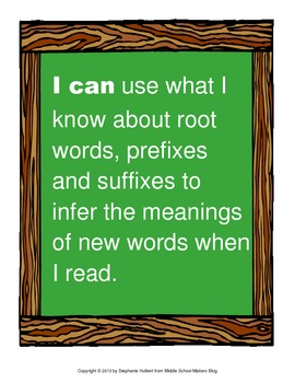 Content Area Roots - Memory Match Social Studies Literacy Center