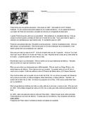 Content Based Instruction:  Frida Kahlo Reading and Worksheet