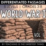 World War I: Passages (Vol. 1)
