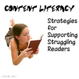 Reading Strategies for Struggling Students - Free