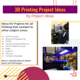 Project Ideas for 3D printing