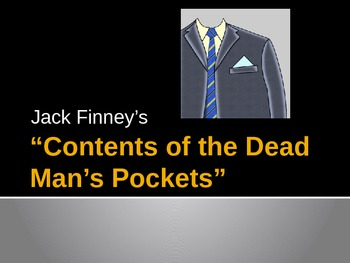 Contents of a Dead Man's Pocket (Guided Reading Questions)