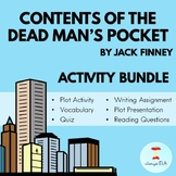 Contents of the Dead Man's Pocket by Jack Finney - Activit
