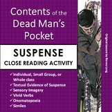 """""""Contents of the Dead Man's Pocket"""" Close Reading Lesson o"""