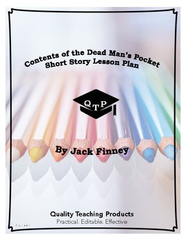 Lesson: Contents of the Dead Man's Pocket Lesson Plan, Worksheet, Powerpoints