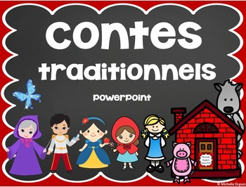 Contes Traditionnels - French Fairy Tale PowerPoint
