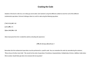 Contest Math Practice Problems for Middle School