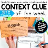 Context Clue Activities