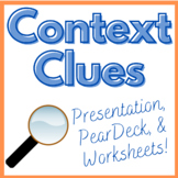 Context Clue Activities for Middle or High School
