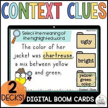 Context Clue Boom Cards Bundle