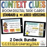 Context Clue Boom Cards Bundle Distance Learning