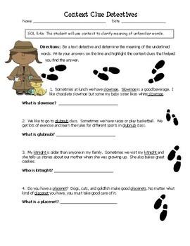 Context Clue Detectives