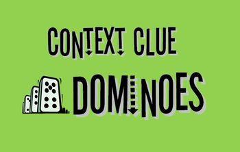 Context Clue Dominoes