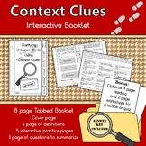 Context Clue Interactive Booklet