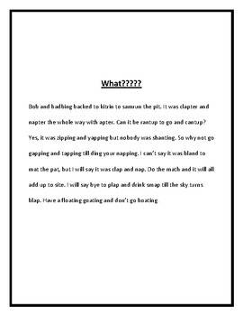 Context Clue Introduction Activity