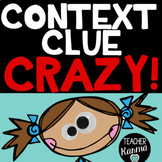Context Clues Game, Multiple Meaning Words Activity