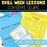 Context Clues Lesson Plans with Activities