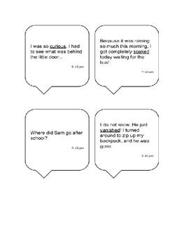 Context Clue Match Up