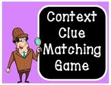 Context Clue Matching Game