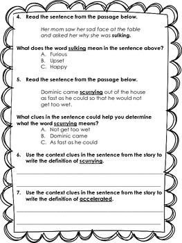 2.L.2.4 Context Clue Passages