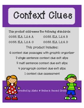 Context Clue Unit