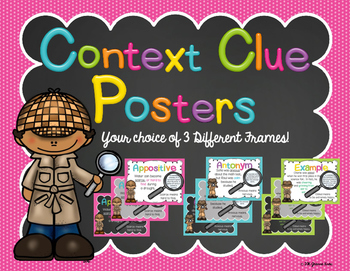 Context Clue Posters!