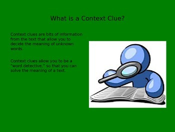 Context Clue PowerPoint