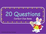 Context Clue PowerPoint Game (20 Questions)
