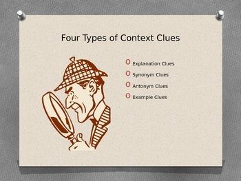 Context Clue Presentation