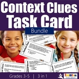Context Clue Task Card Bundle 1