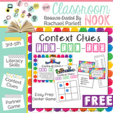 FREEBIE: Context Clue Tic-Tac-Toe Game